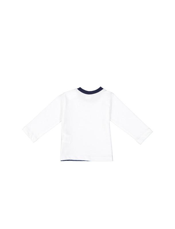 تی شرت نخی ساده نوزادی پسرانه