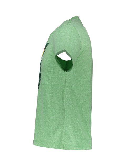 تی شرت یقه گرد مردانه - متی - سبز - 3