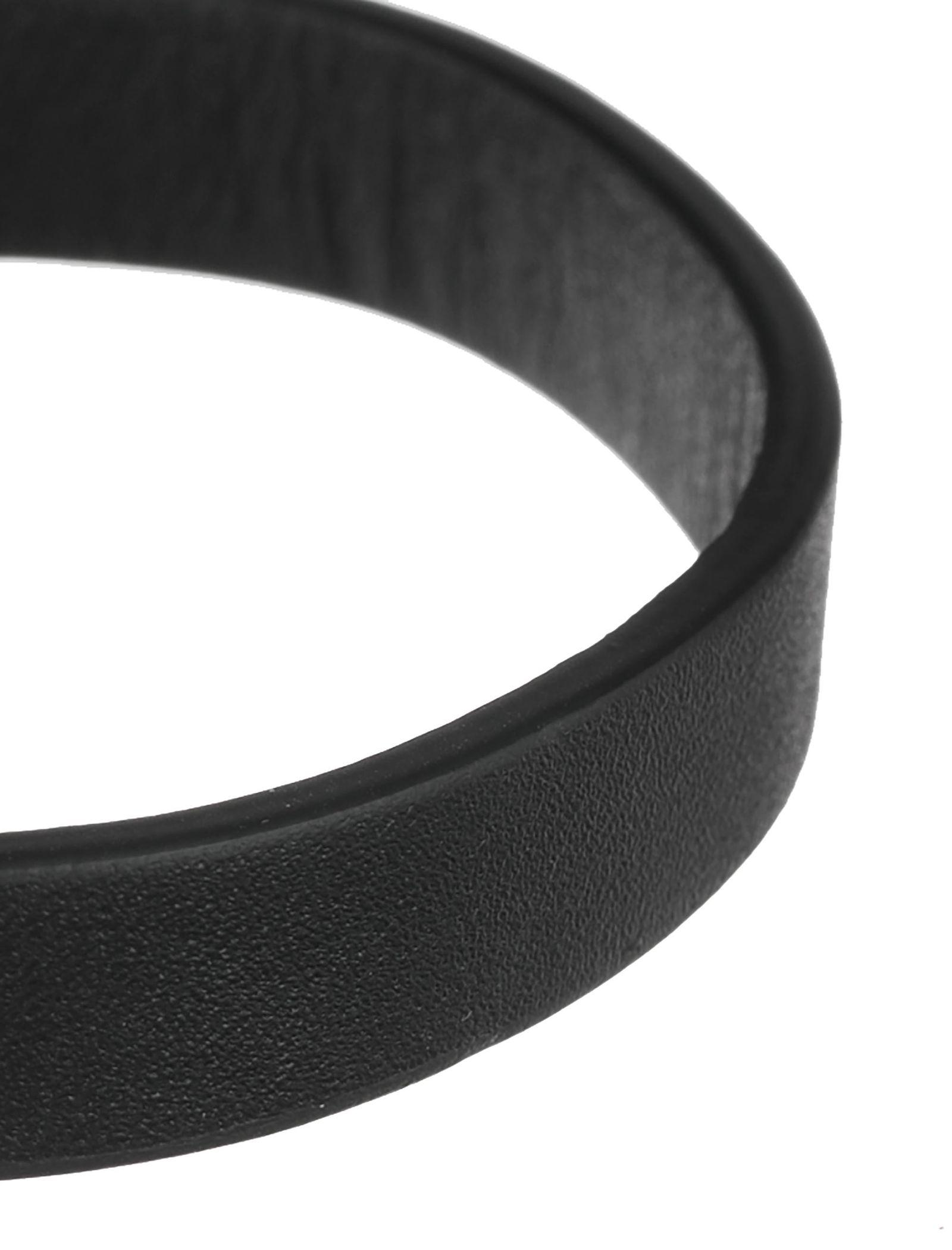 دستبند چرم بزرگسال - عالیخان سایز S - مشکي - 2