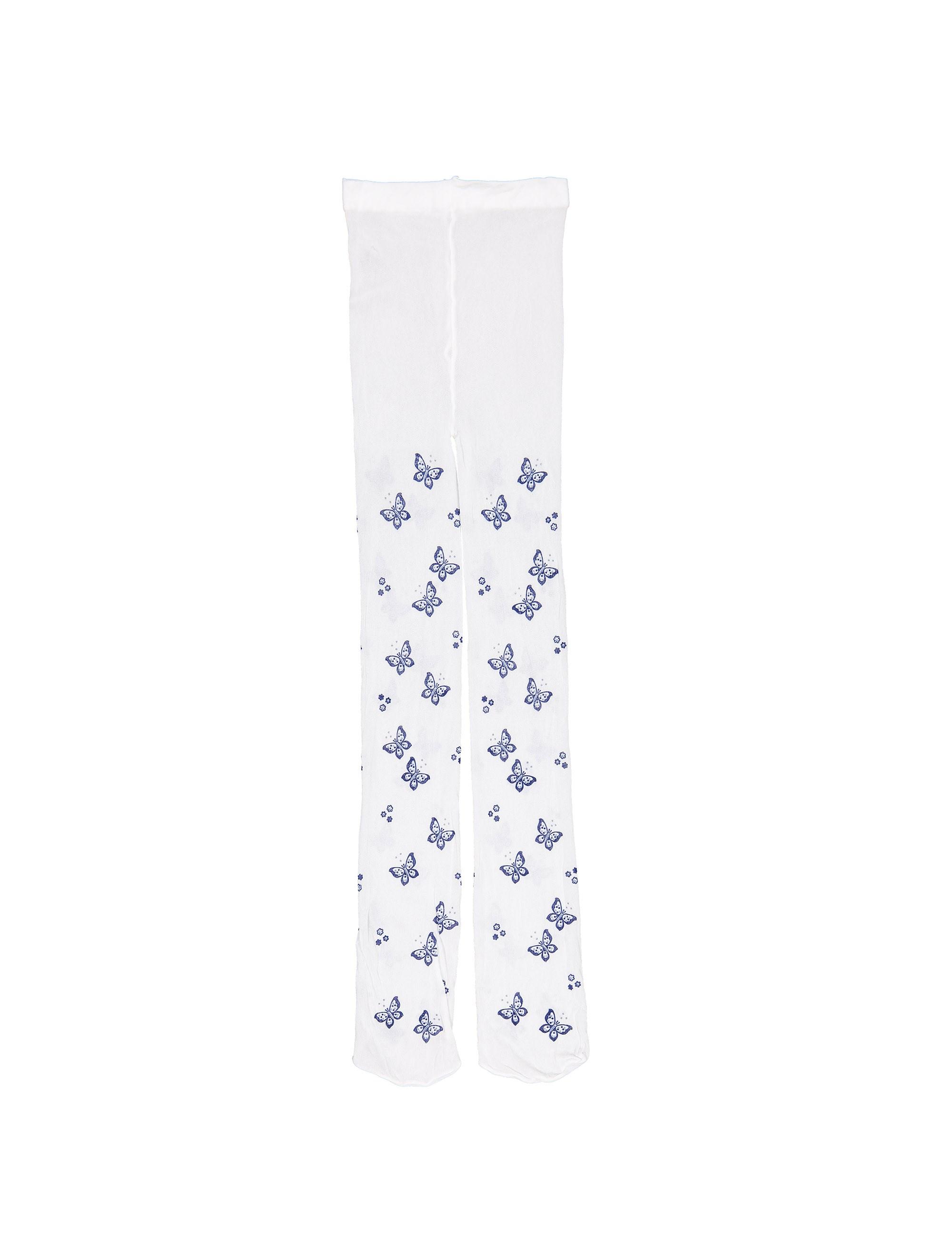 جوراب شلواری طرح دار دخترانه - بلوکیدز - سفيد - 1