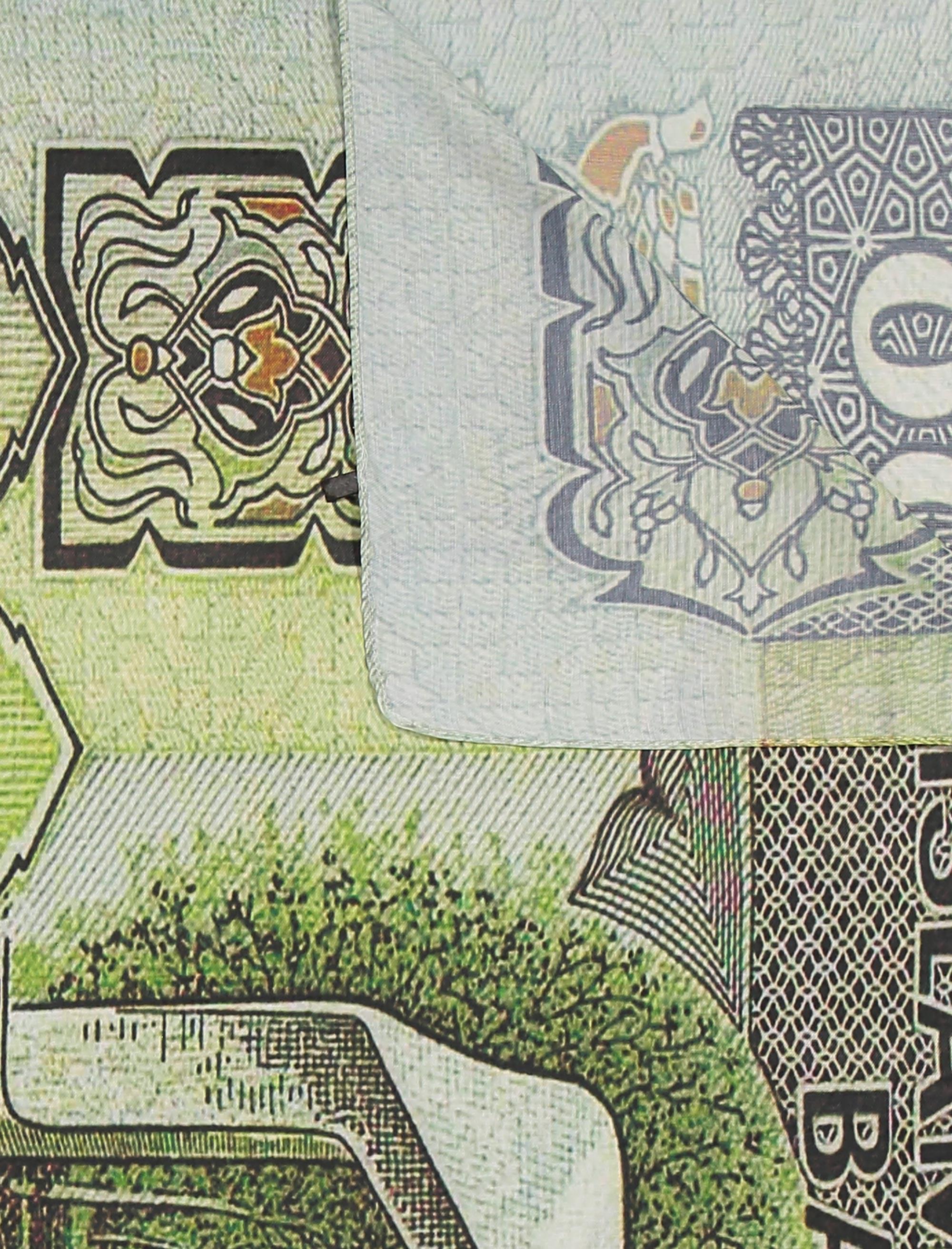 شال طرح دار زنانه - مینا فخارزاده - چند رنگ - 4