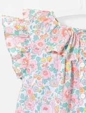 پیراهن نخی نوزادی دخترانه Lamente - چند رنگ - 3