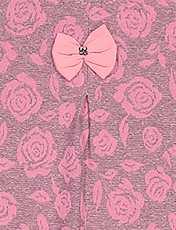 بلوز و شلوار نخی دخترانه مدل گل - تدی بیر - کالباسي - 6