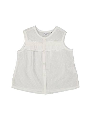 پیراهن نخی بدون آستین نوزادی دخترانه - بلوکیدز