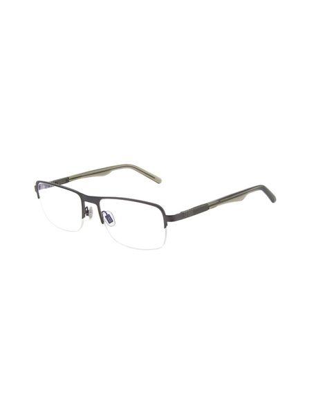 عینک طبی مستطیلی مردانه - زيتوني - 1