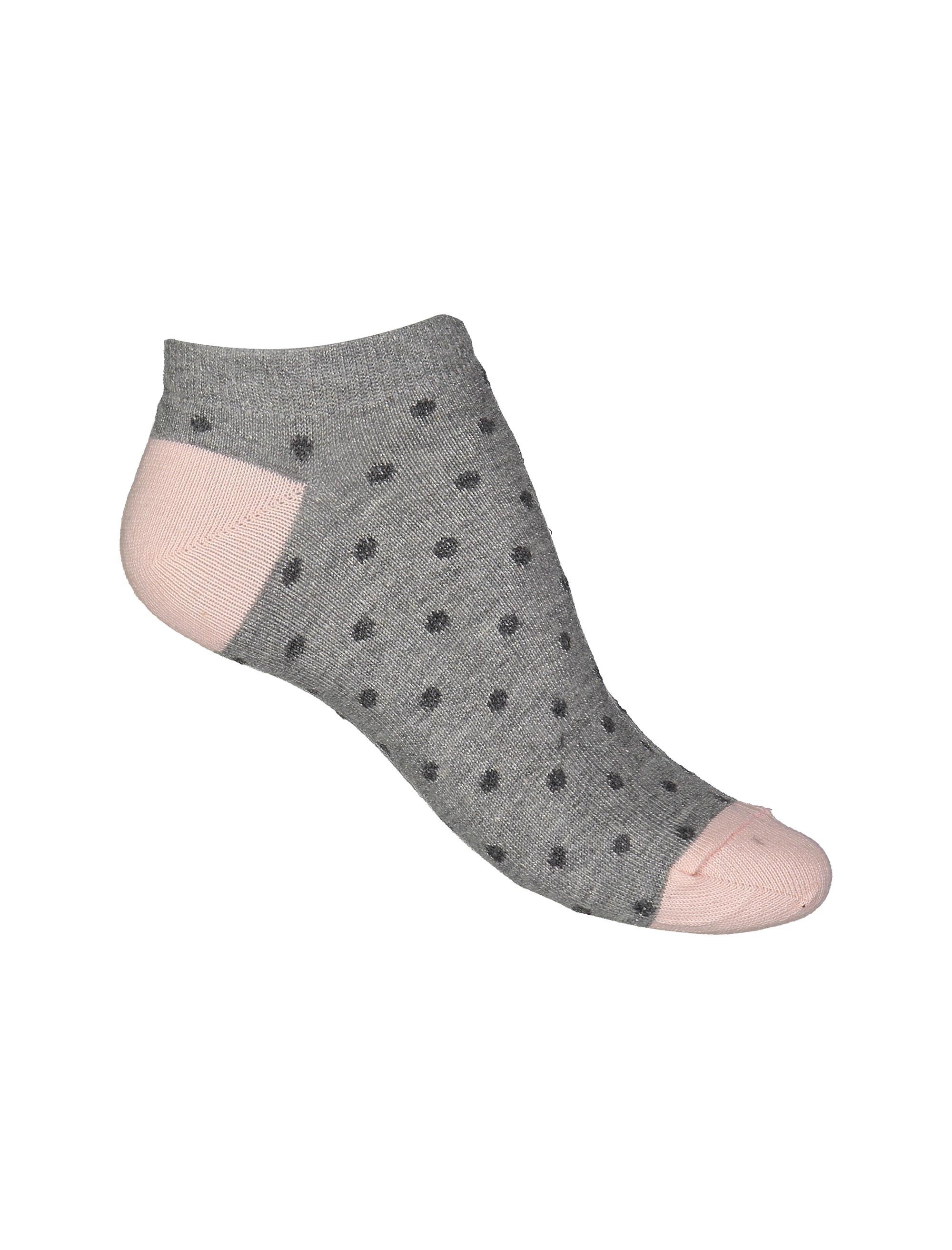 جوراب ساق کوتاه زنانه بسته 3 عددی