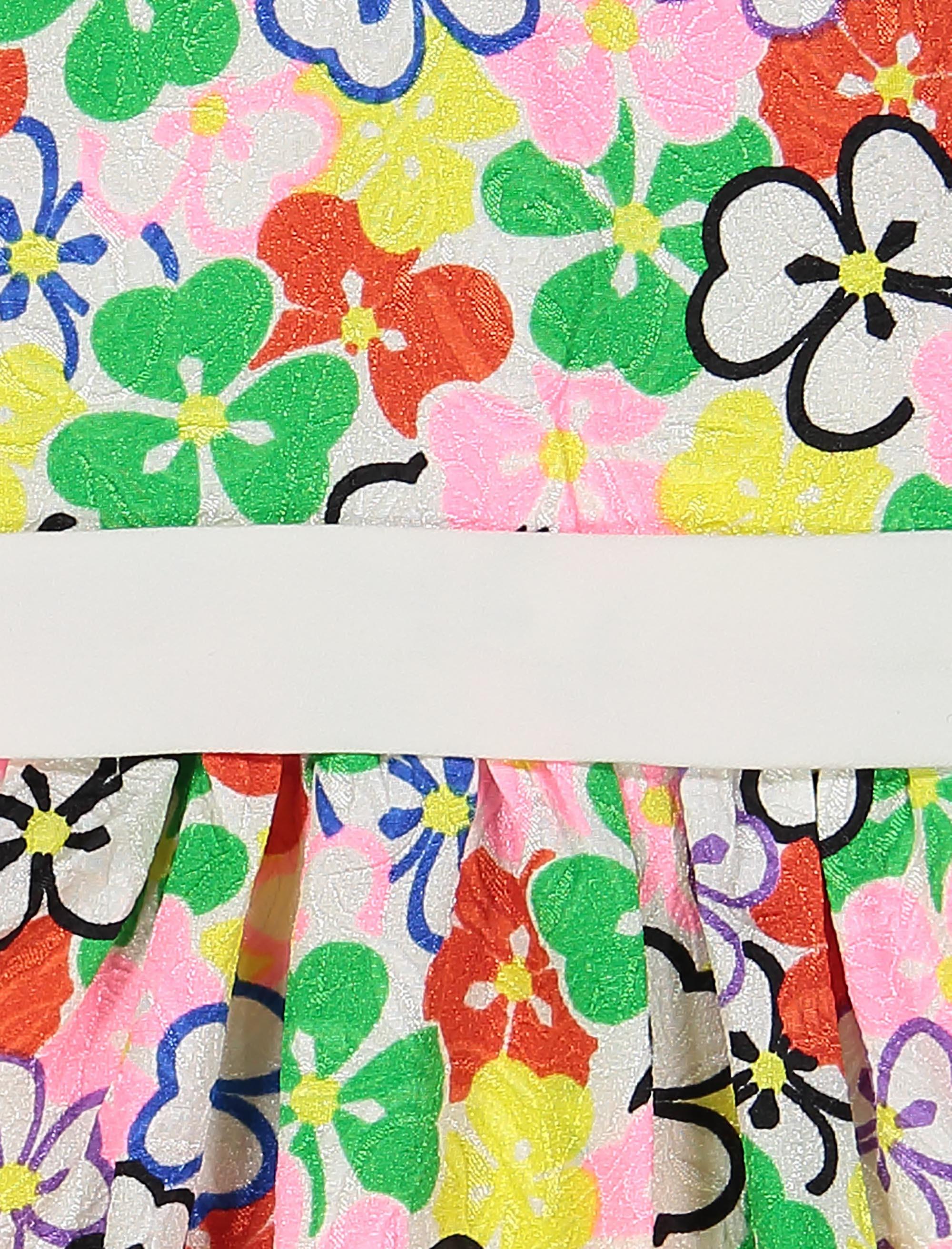 پیراهن مهمانی دخترانه - صورتي - 3