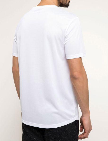 تی شرت یقه گرد مردانه - سفيد - 6