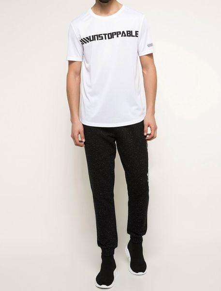 تی شرت یقه گرد مردانه - سفيد - 7