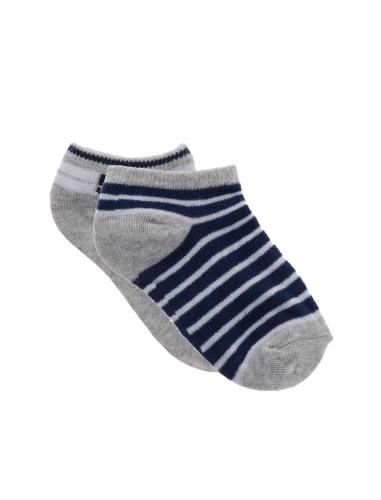 جوراب نخی بدون ساق بچگانه بسته 2 عددی