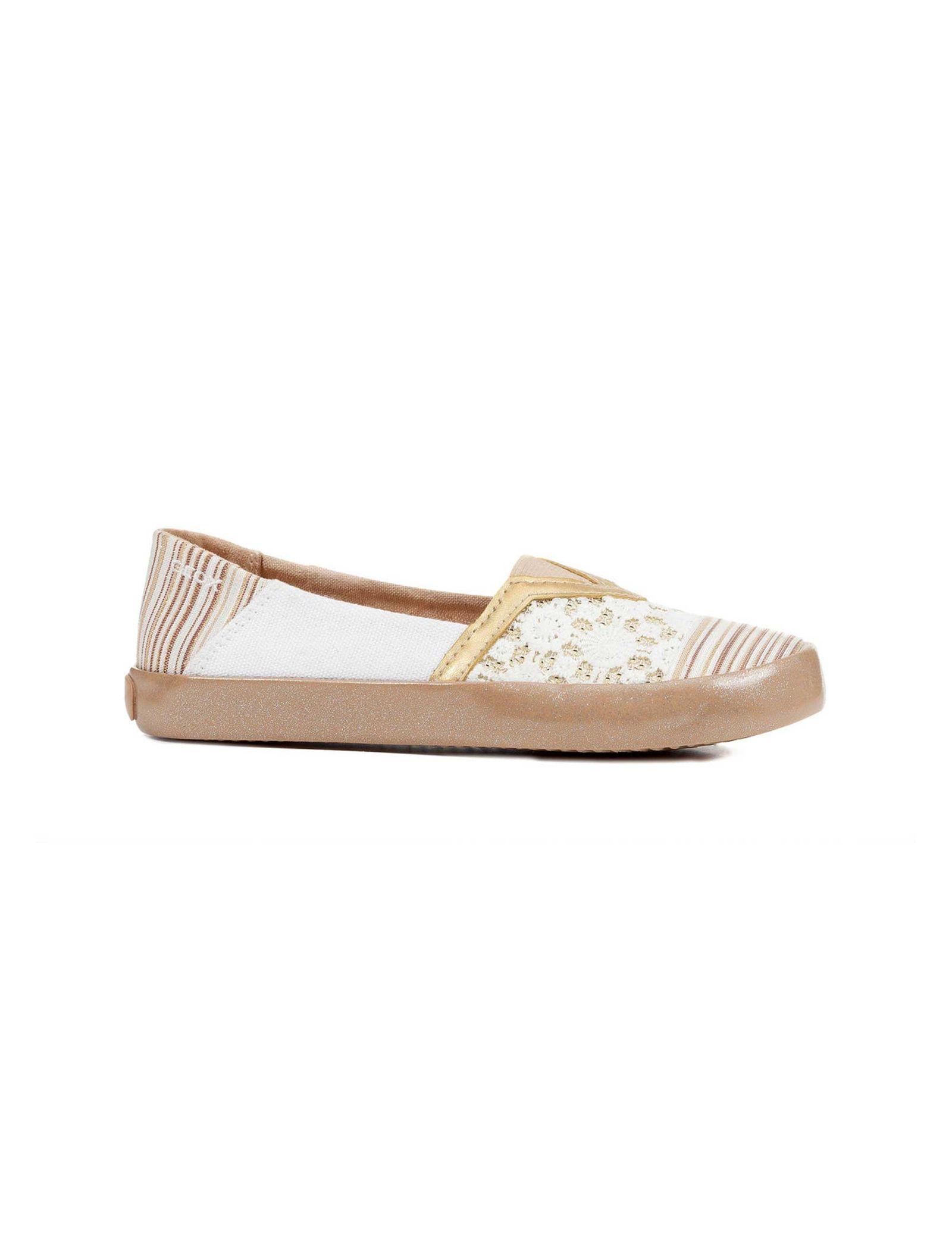 کفش تخت دخترانه JR KILWI - جی اوکس - طلايي - 1