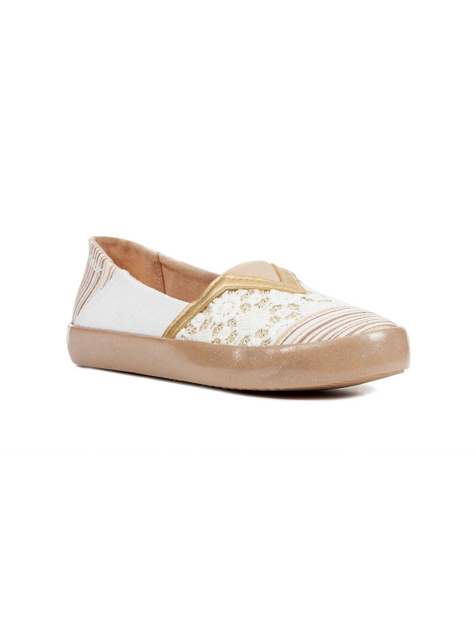 کفش تخت دخترانه JR KILWI - جی اوکس - طلايي - 2