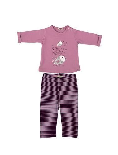 تی شرت و شلوار نوزادی دخترانه