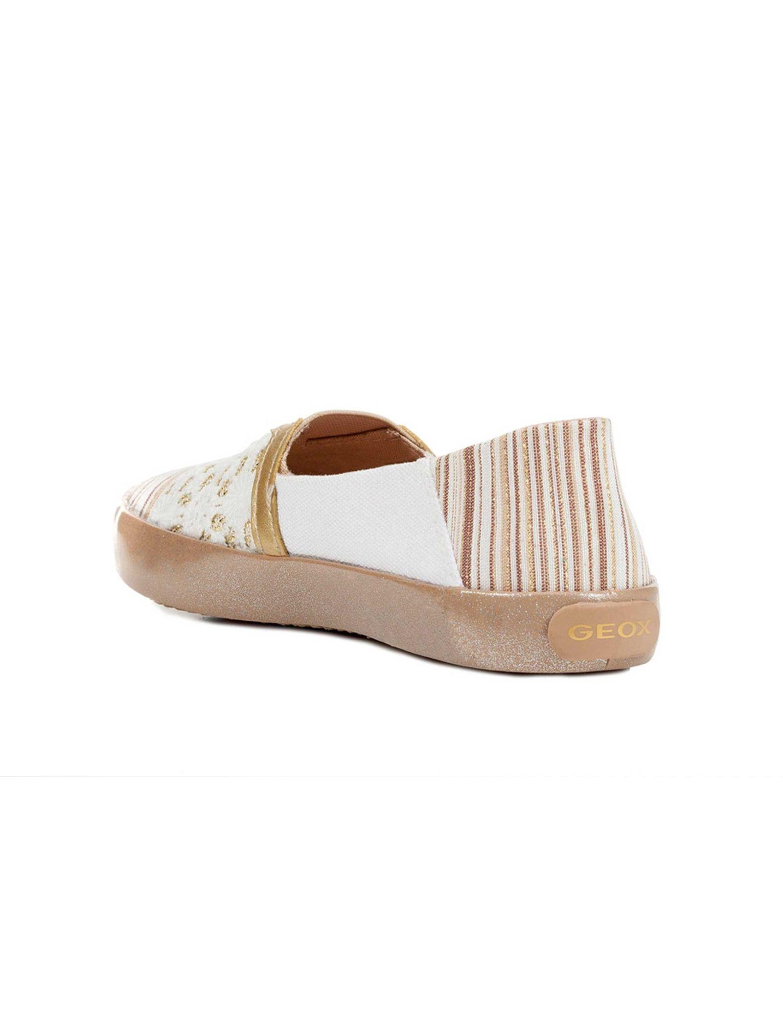 کفش تخت دخترانه JR KILWI - جی اوکس - طلايي - 3