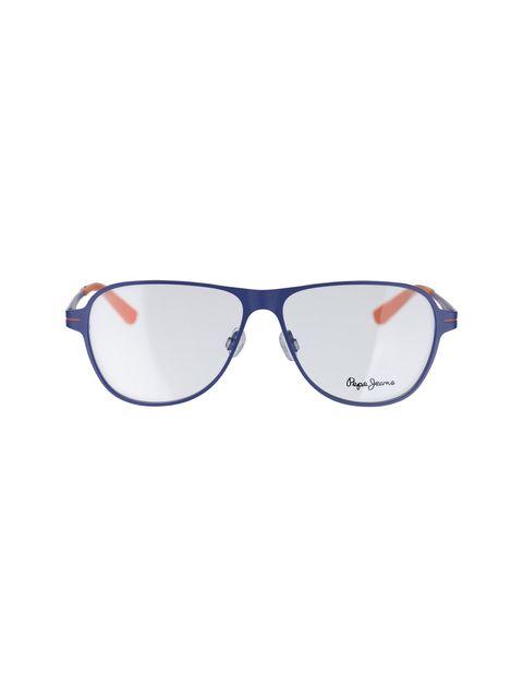 عینک طبی خلبانی مردانه - آبي  - 1