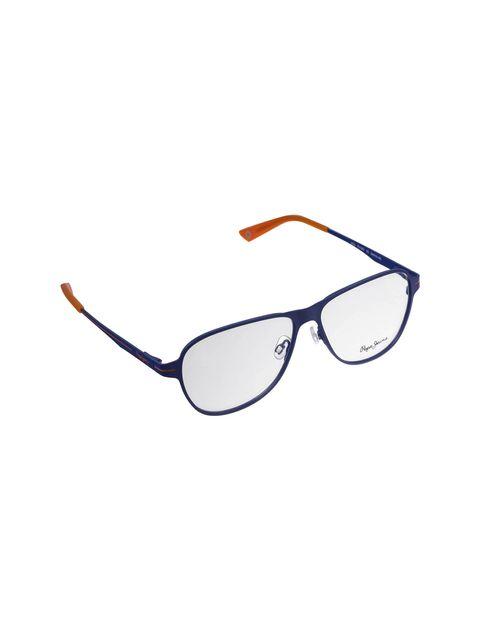 عینک طبی خلبانی مردانه - آبي  - 4