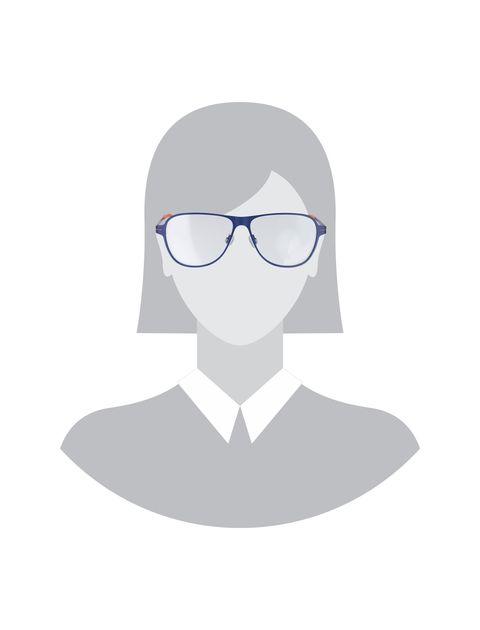 عینک طبی خلبانی مردانه - آبي  - 5