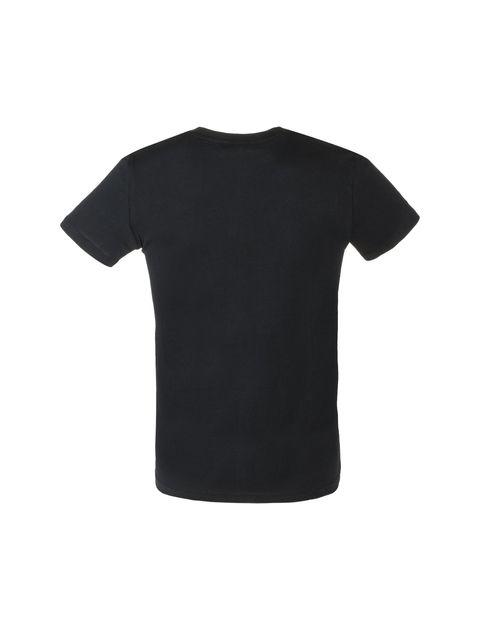 تی شرت نخی یقه گرد مردانه - یوپیم - مشکي - 2