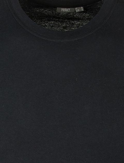 تی شرت نخی یقه گرد مردانه - یوپیم - مشکي - 5