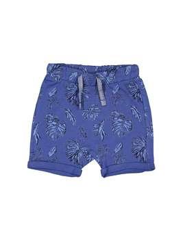 شلوارک نخی طرح دار نوزادی پسرانه | Baby Boys Cotton Patterned Shorts