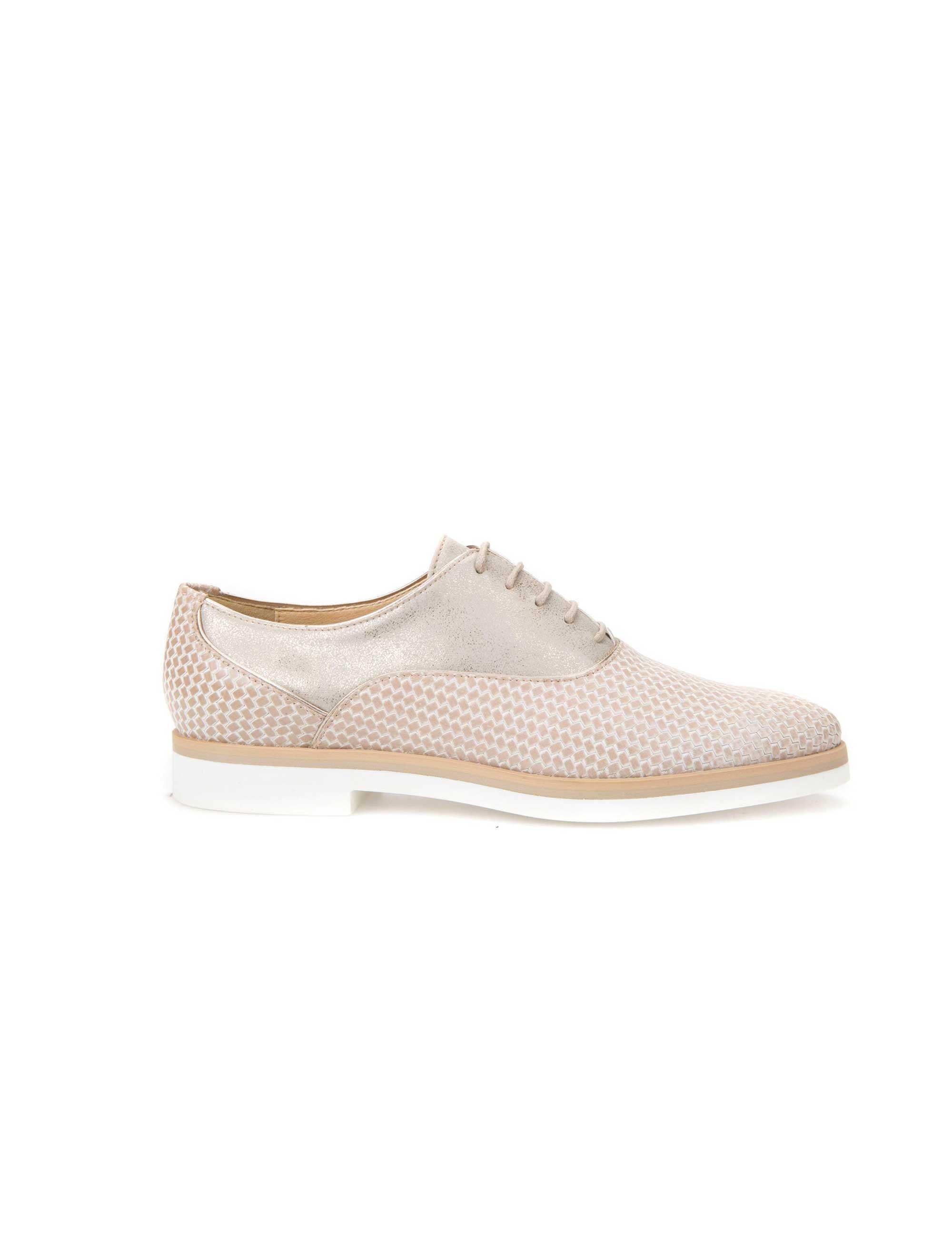 کفش چرم تخت زنانه JANALEE - جی اوکس