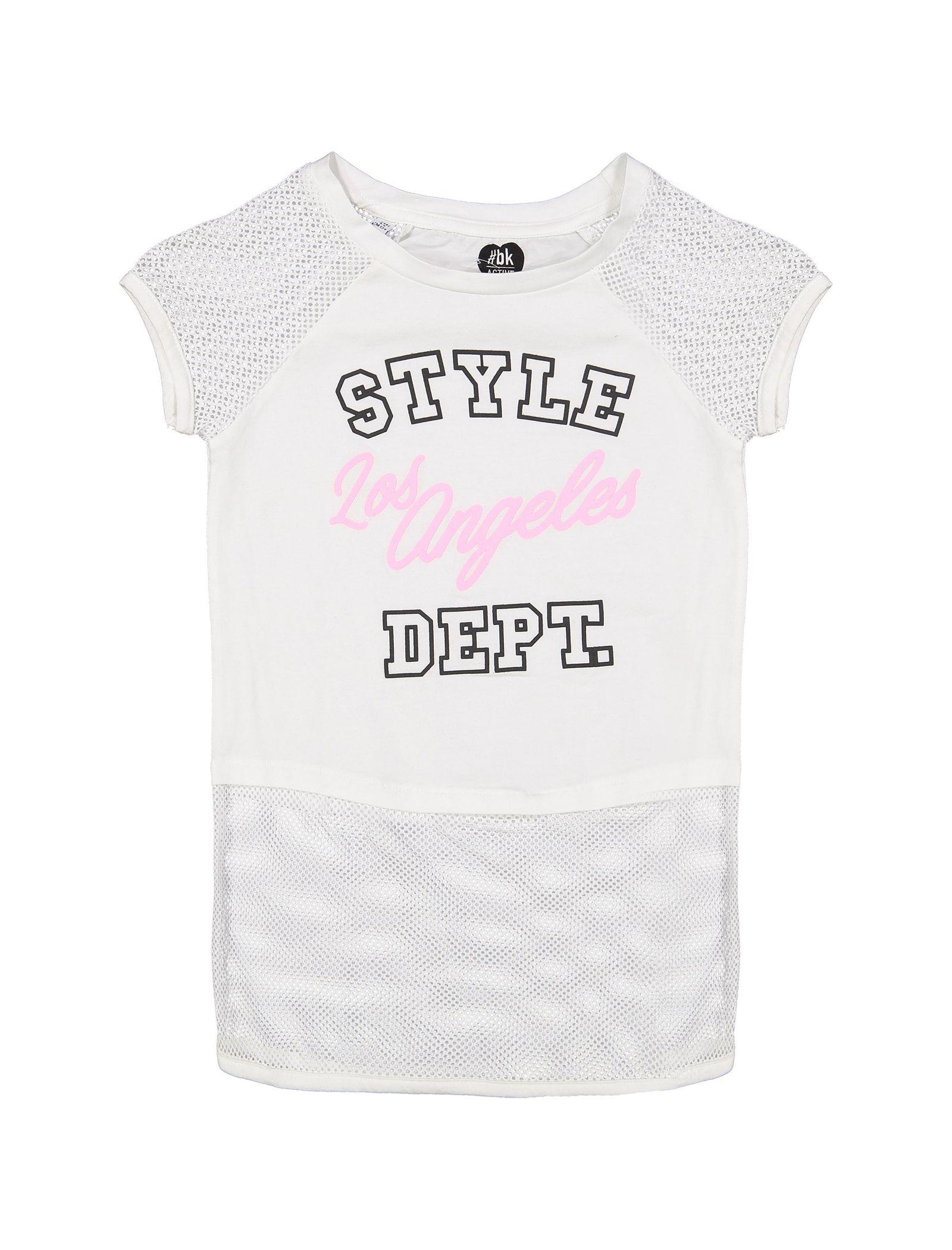 تی شرت و شلوار دخترانه - بلوکیدز - سفيد/مشکي - 2