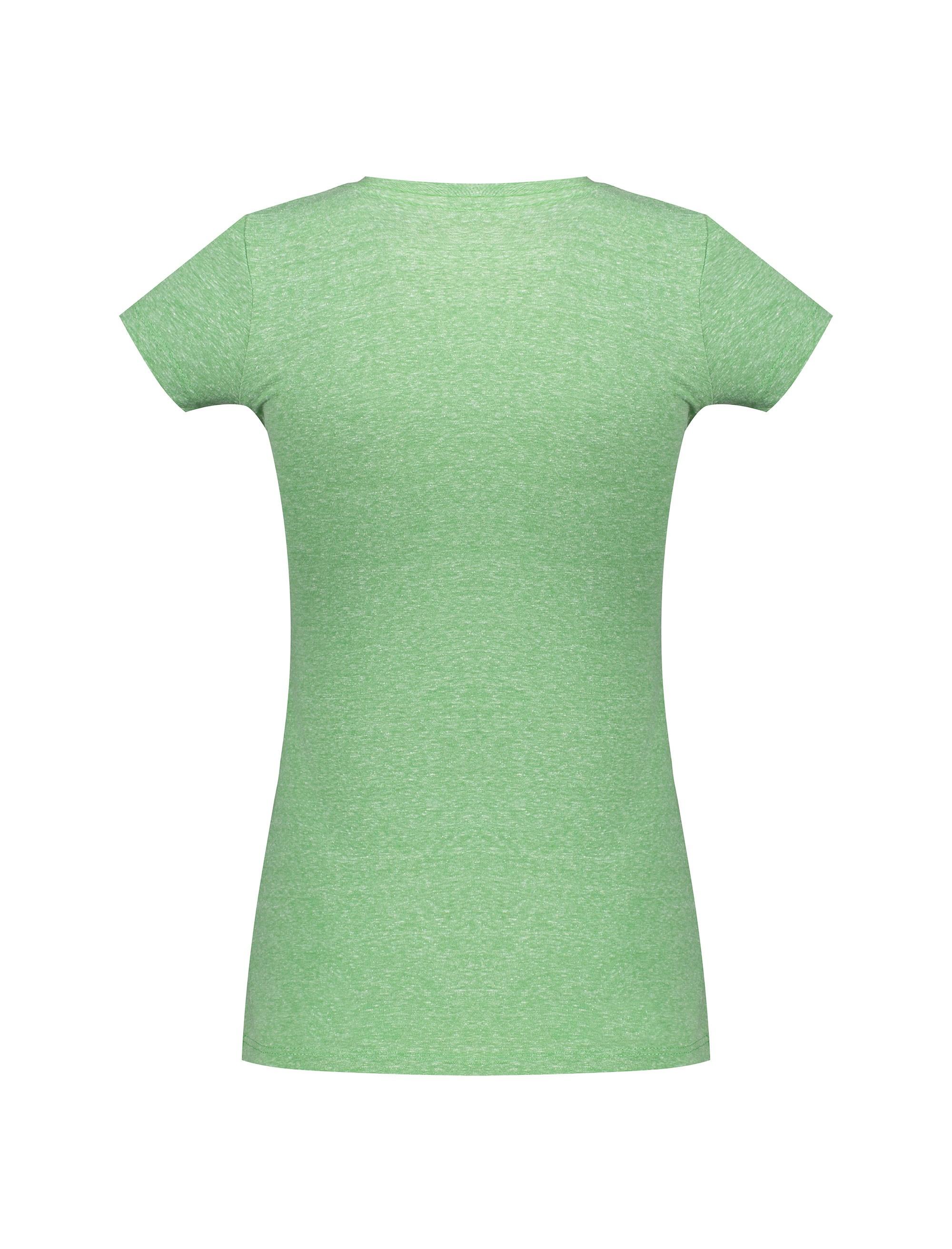 تی شرت یقه گرد زنانه - سبز - 2