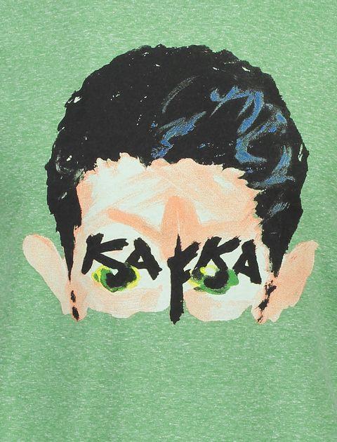 تی شرت یقه گرد مردانه - سبز - 4