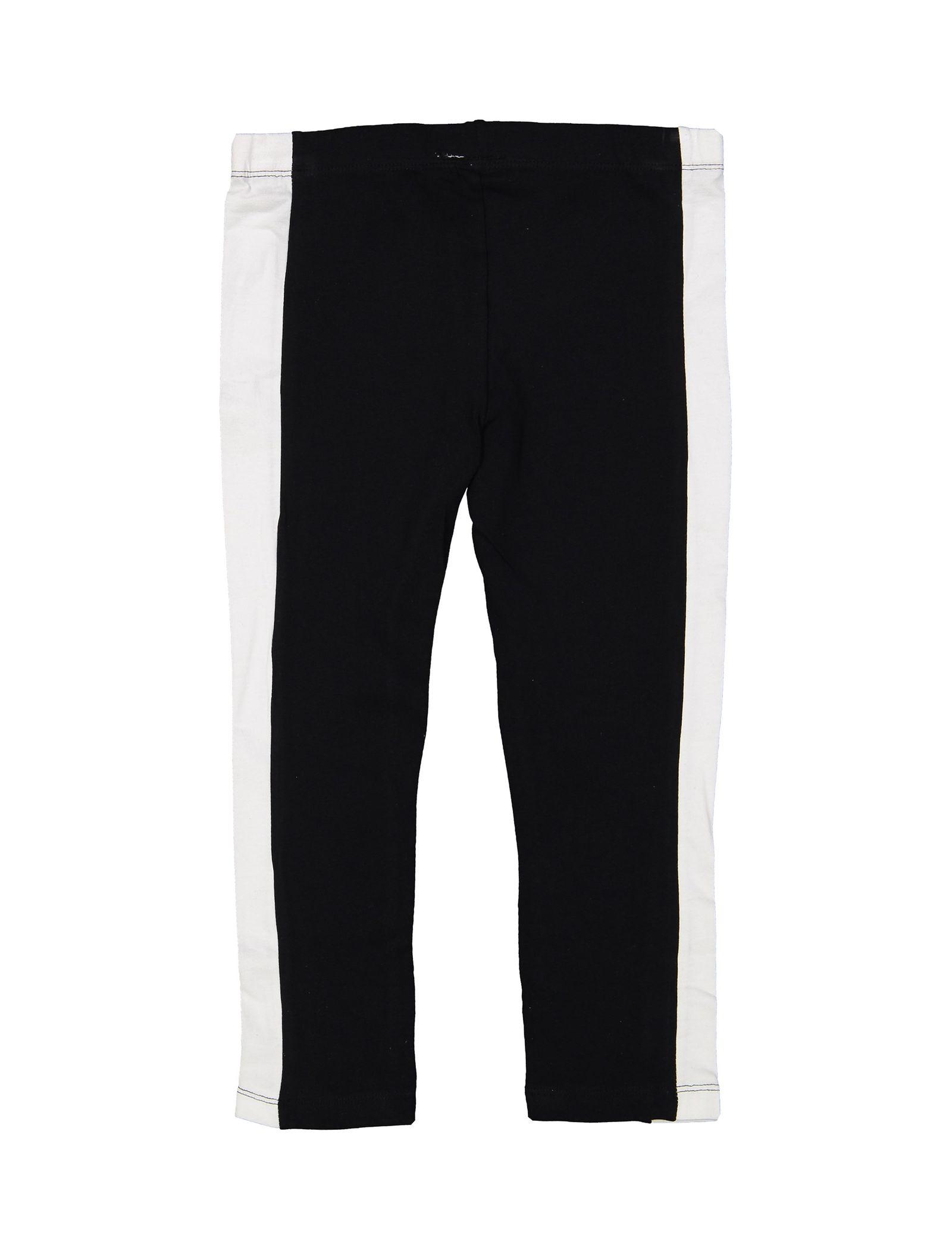 تی شرت و شلوار دخترانه - بلوکیدز - سفيد/مشکي - 6