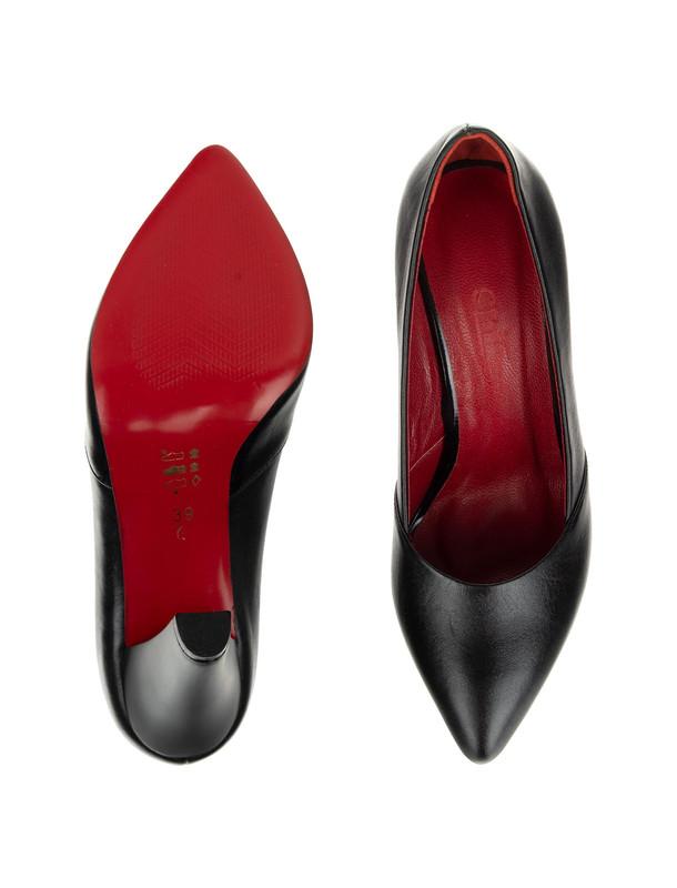 کفش چرم پاشنه بلند زنانه - شیفر