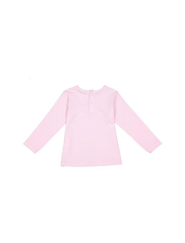 تی شرت نخی آستین بلند نوزادی دخترانه