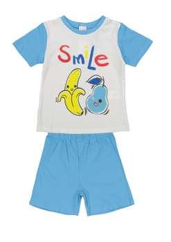 تی شرت و شلوارک نخی نوزادی