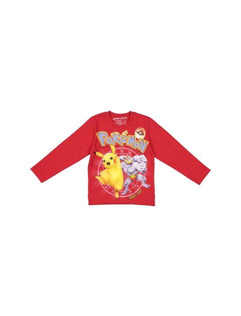 تی شرت و شلوار نخی پسرانه - قرمز - 2