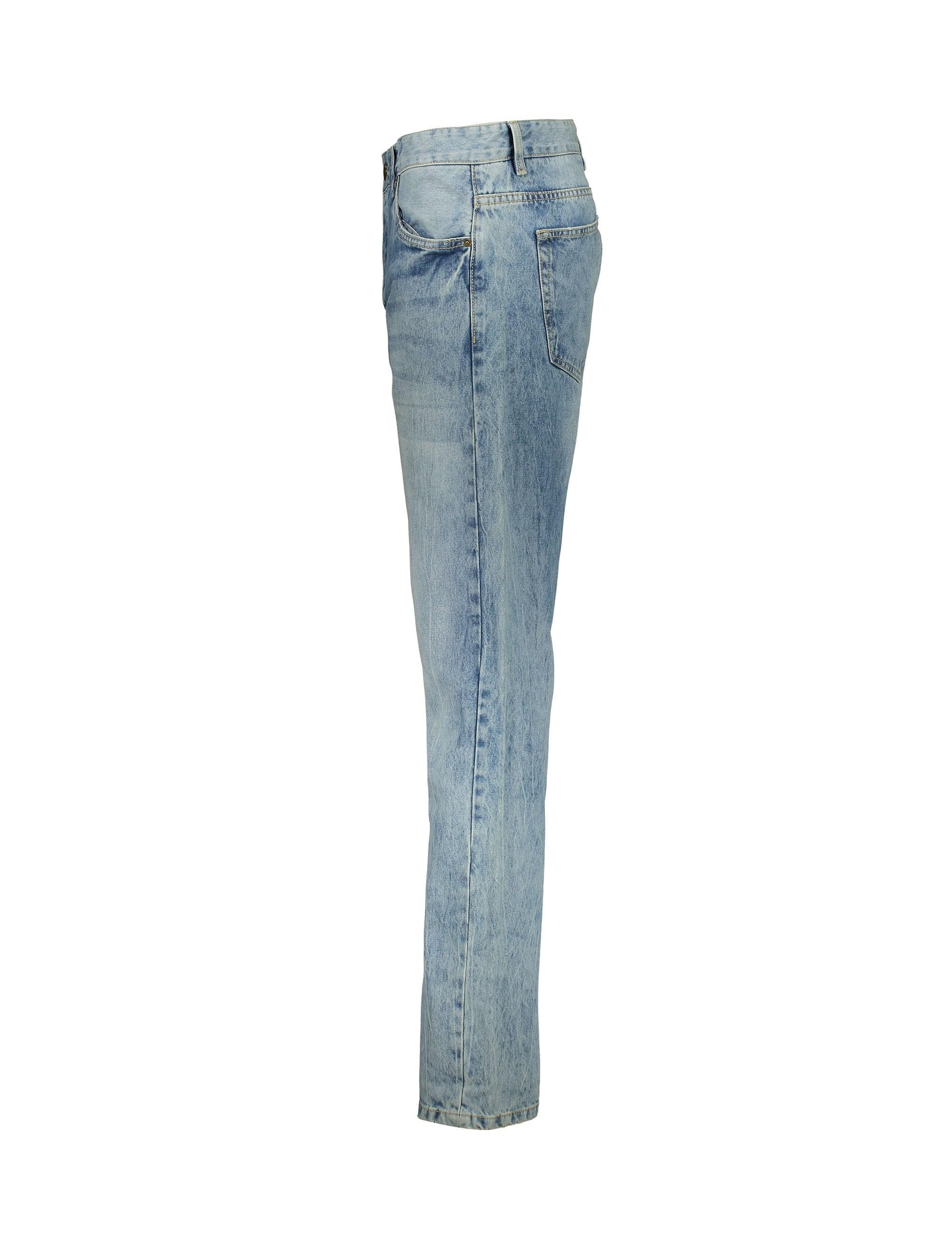 شلوار جین راسته مردانه - یوپیم - آبي روشن - 3