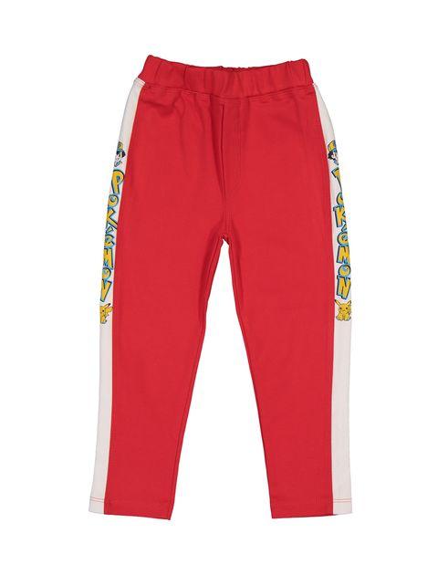 تی شرت و شلوار نخی پسرانه - قرمز - 6