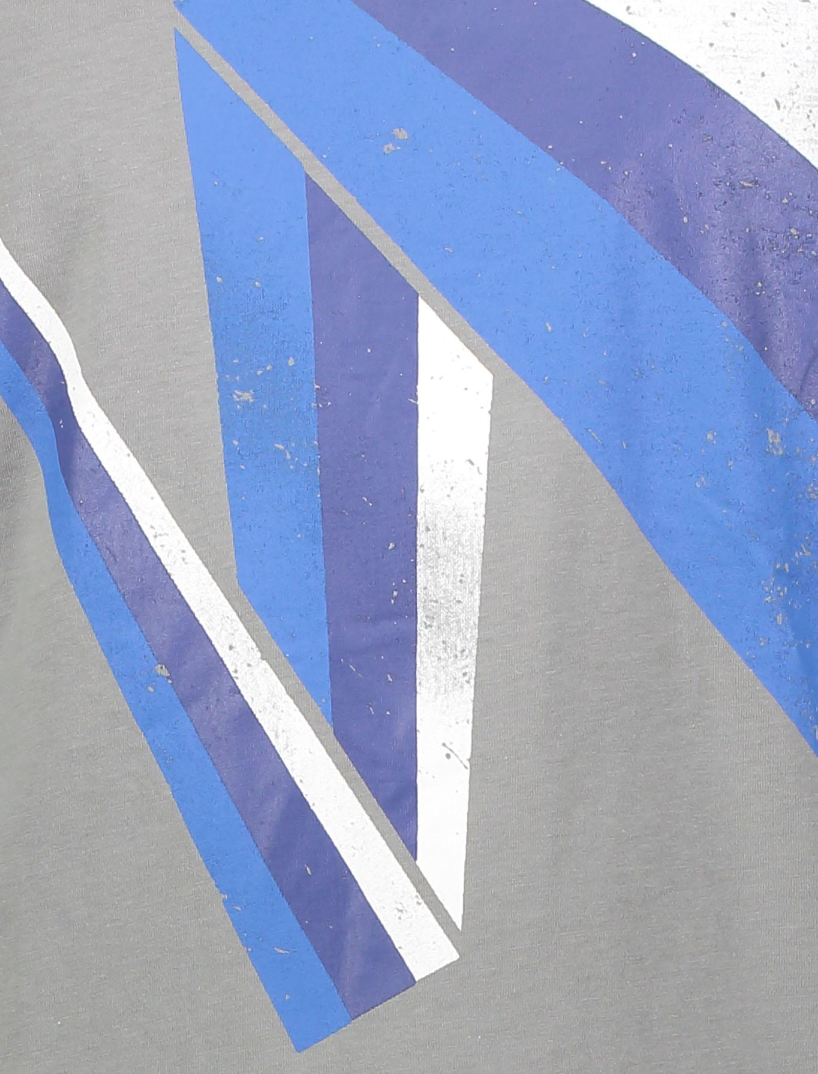 تی شرت نخی یقه گرد مردانه - یوپیم - طوسي - 4