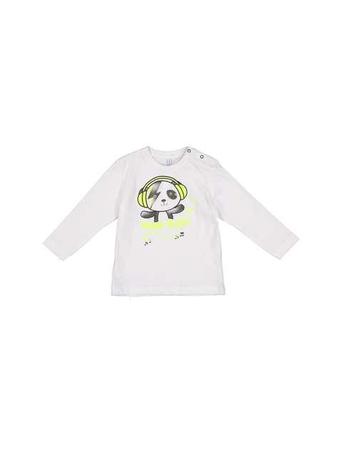 تی شرت نخی آستین بلند نوزادی پسرانه