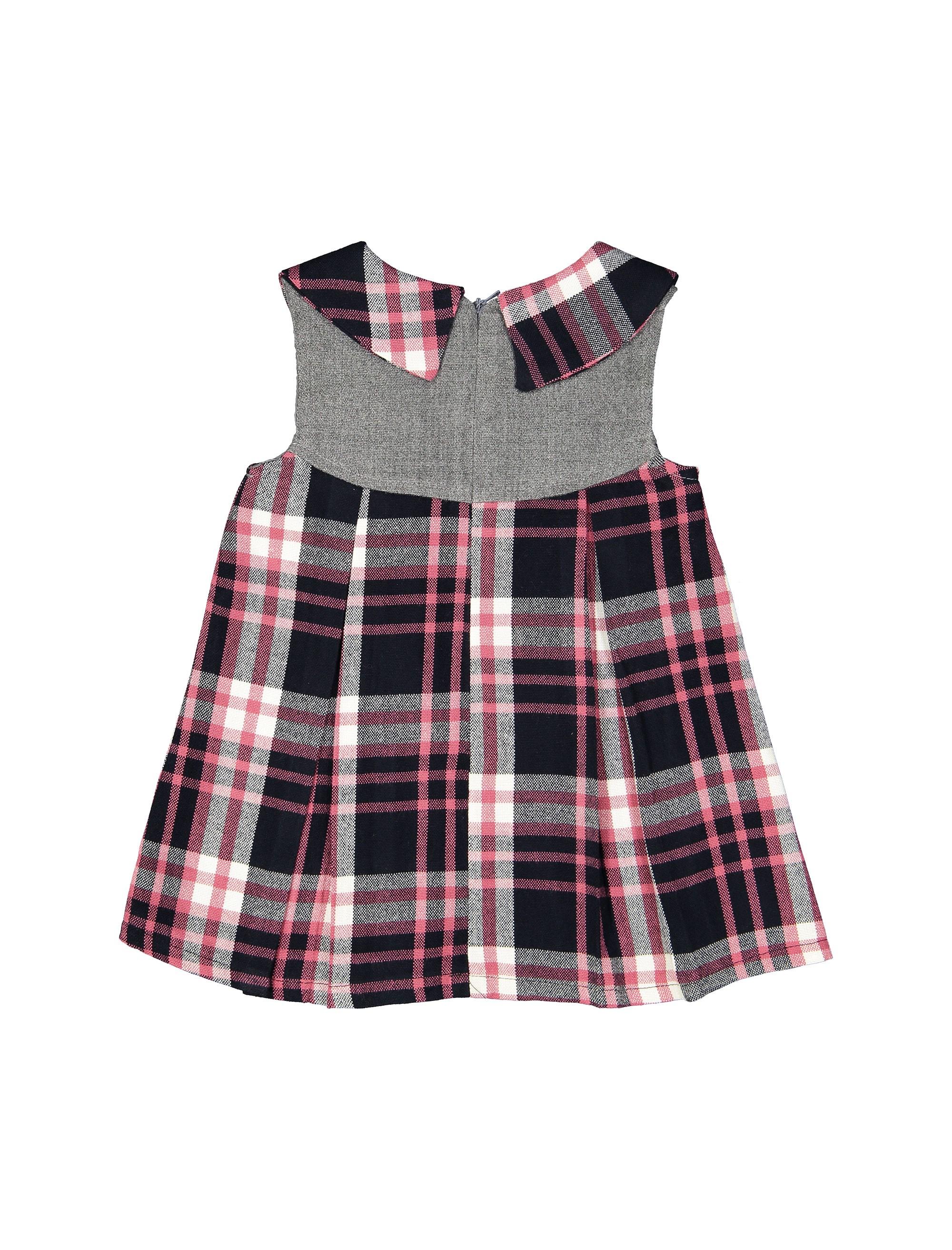 پیراهن روزمره دخترانه مدل 971 - صورتي - 2