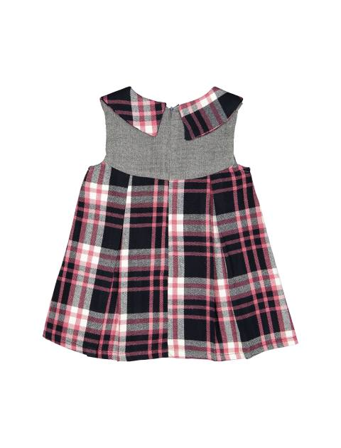 پیراهن روزمره دخترانه مدل 971 - تدی بیر - صورتي - 2