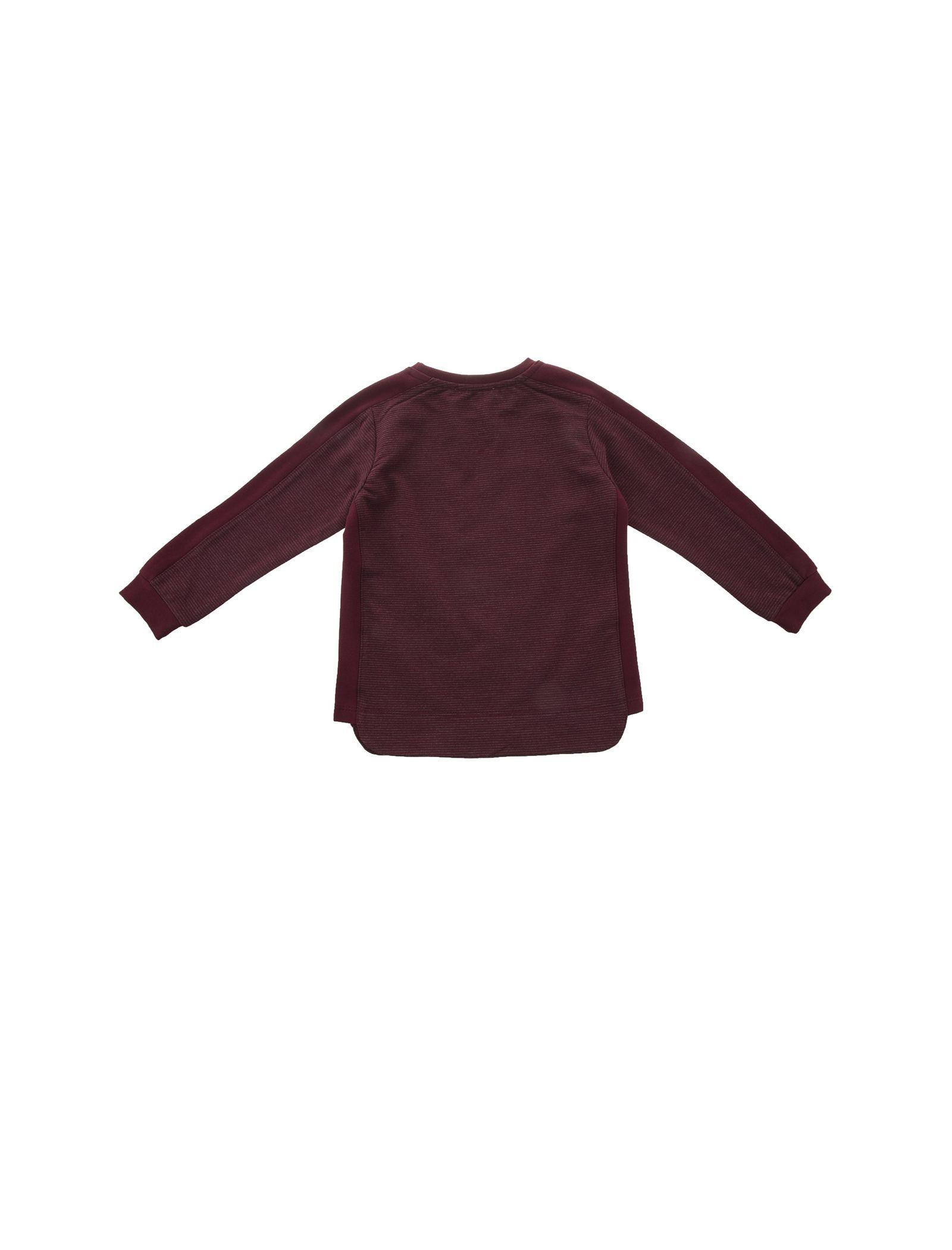 تی شرت و شلوار نخی دخترانه - پیانو - زرشکي - 3