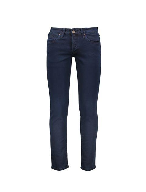 شلوار جین راسته مردانه - پاتن جامه - سرمه اي - 1