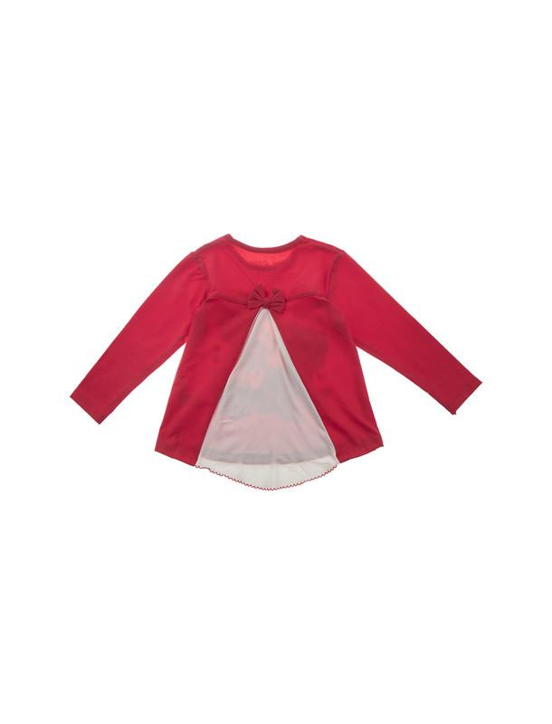 تی شرت نخی یقه گرد دخترانه - سون پون