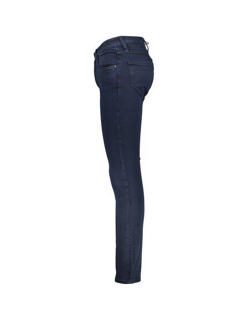 شلوار جین راسته مردانه - پاتن جامه - سرمه اي - 2