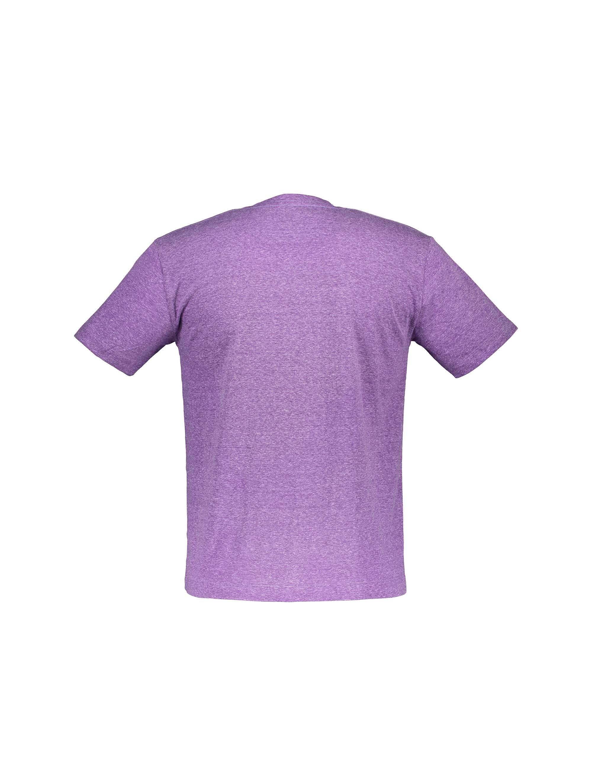 تی شرت یقه گرد مردانه - قرمز - 2