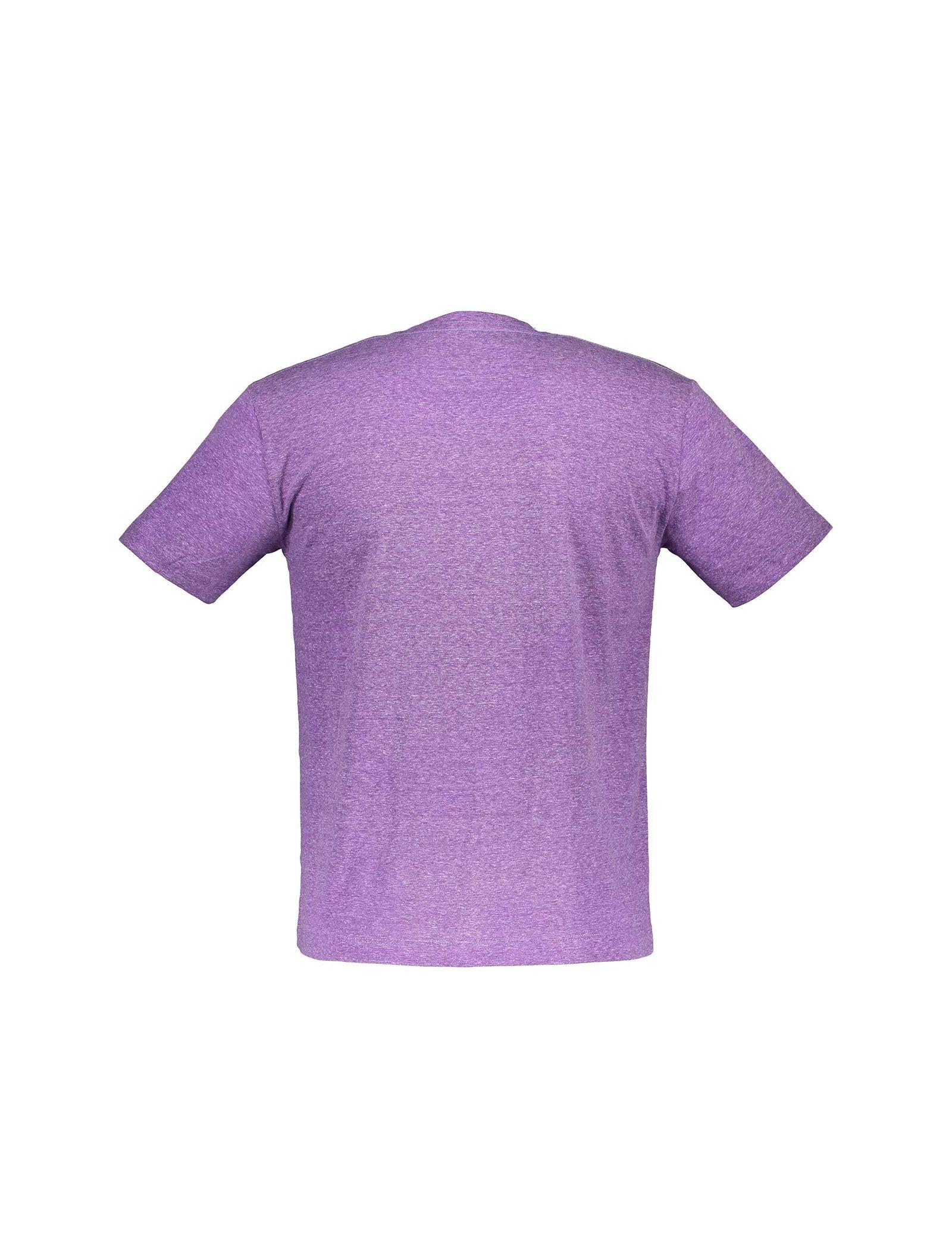 تی شرت یقه گرد مردانه - متی - قرمز - 2