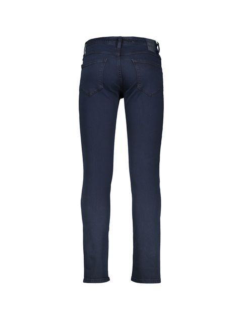 شلوار جین راسته مردانه - پاتن جامه - سرمه اي - 3