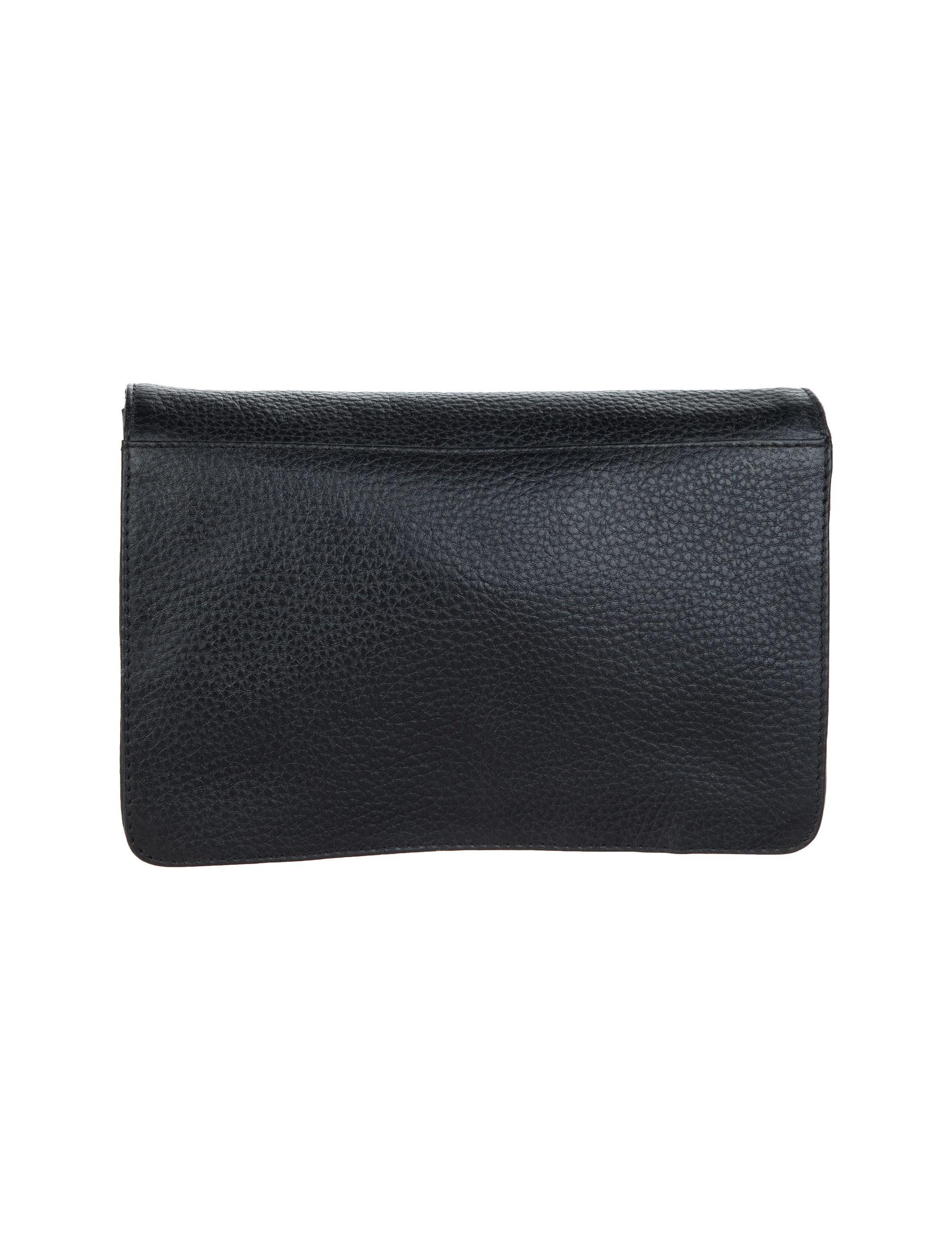 کیف دستی چرم مردانه - شیفر