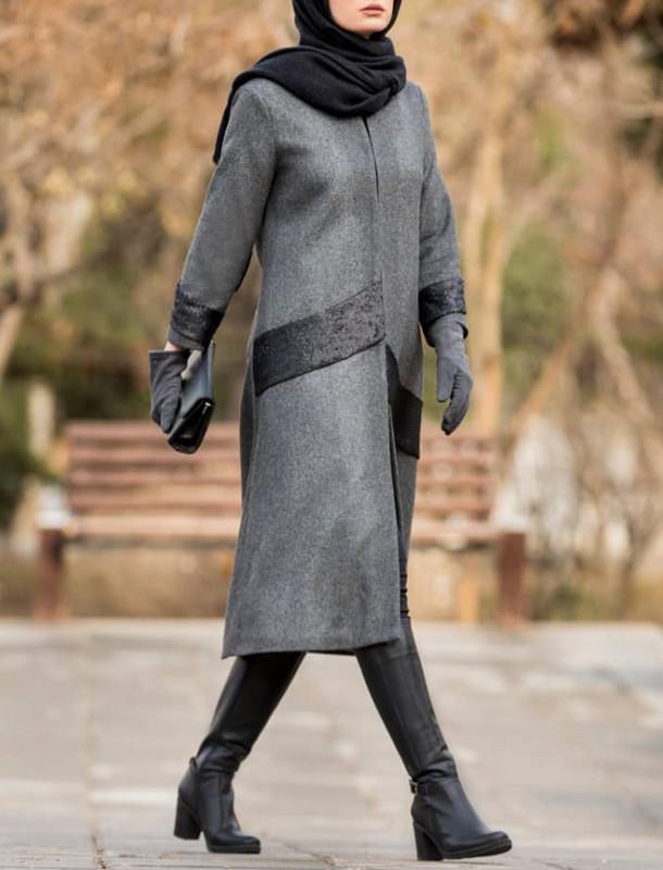 پالتو بلند زنانه مدل رولان
