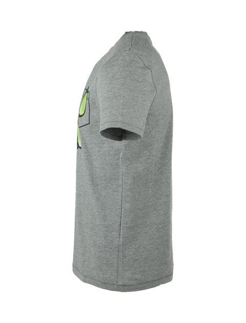 تی شرت نخی یقه گرد مردانه - یوپیم - طوسي - 3