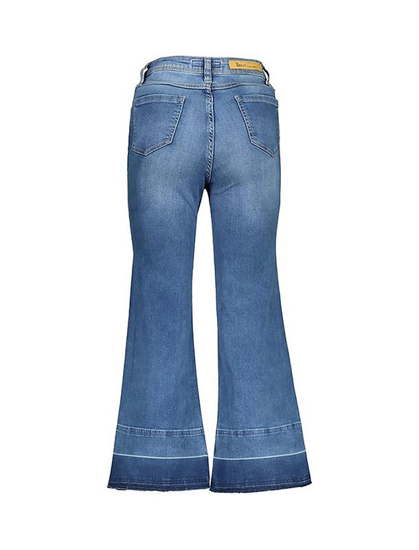 شلوار جین دم پا گشاد زنانه